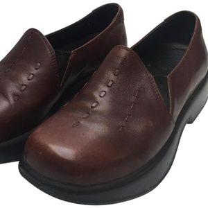 Dansko Brown Unisex Mules/Clogs Size 38